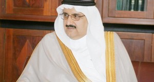 مع الأمير منصور بن متعب وزير الشؤون البلدية والقروية